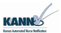 Kansas Automated Nurse Notification